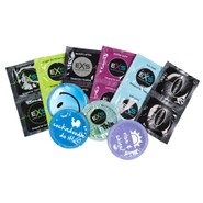 EXS Condoms Mega Mix - Standard Size