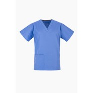 Light Blue Ceil NHS Medical Compliant Scrub Tunic TOP ONLY