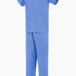 Light Blue NHS Compliant Reversible Scrub Suit Set additional 1