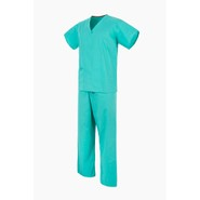 Jade Green NHS Medical Compliant Reversible Scrub Suit Set