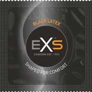 EXS Black Latex Condoms