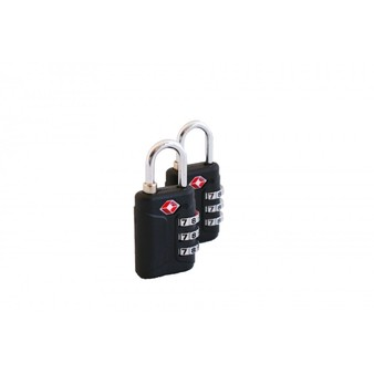 Pack of 2 Fully Approved TSA Travel Locks