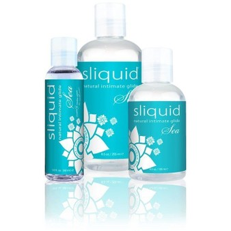 Sliquid Naturals Sea Carrageenan Infused Lubricant