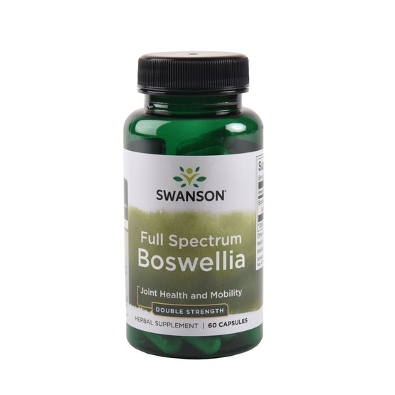 Swanson Full Spectrum Double Strength Boswellia 800mg - 60 Capsules