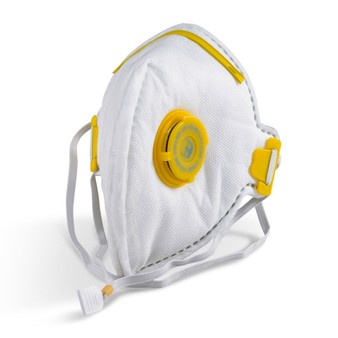 BBrand P3 Valved Respirator Face Mask by Beeswift (FFP3) ONE MASK