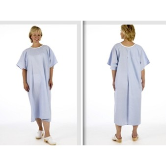 Pullover Blue Examination X-ray Gown