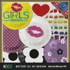 EXS Promotional Condoms Girls Mix Design (200 Pack)