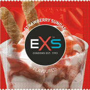 EXS Strawberry Flavoured Condoms