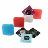 3 x EXS Condoms & EXS Condom Travel Case