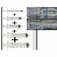 Terumo Disposable Syringes Selection Pack (1ml, 2ml, 5ml, 10ml & 20ml)