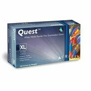 Aurelia Quest White Nitrile Gloves