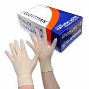 Gloveman Latex Powder Free Gloves