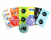 Variety Condom Mix - Mates, Pasante & EXS (Standard Size)