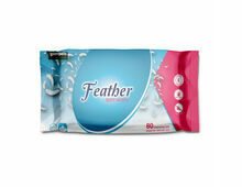 Gompels Feather Soft Wet Wipes (Pack of 80)