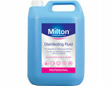 Milton Disinfecting Fluid Hospital Pack x 2 (5 litre)