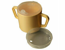 Twin Handled Mug With Feeding & Narrow Spout Lids