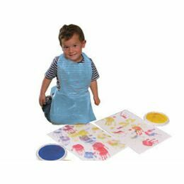 Packs of 100 Kids Disposable Flat Packed Aprons