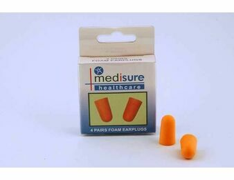 Ear Plugs (4 Pairs)