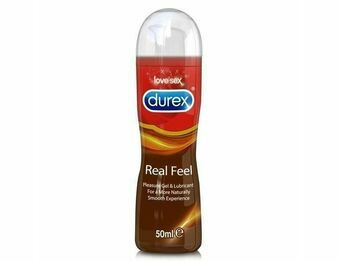 Durex Real Feel Pleasure Gel & Lubricant (50ml)