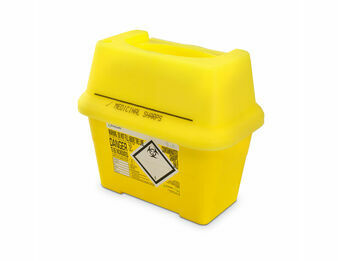 Frontier 2L Sharps Bin Container