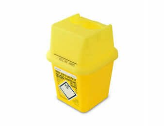 Frontier 4L Sharps Bin Container