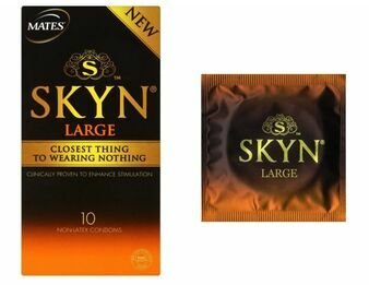 Mates Skyn Large Non Latex/ Latex Free Condoms