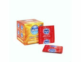 Skins Cube Ultra Thins Condoms - 16 Pack
