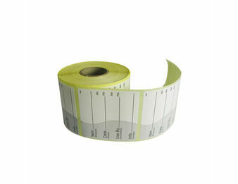 Removable Item, Date & Use By Labels x 500