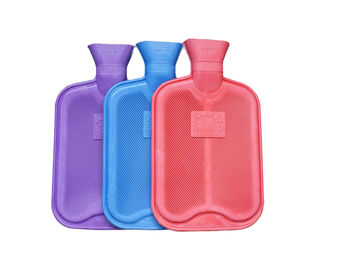 Ribbed Both Sides Hot Water Bottle (Assorted Colours)