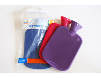 Thermoplastic Ribbed Hot Water Bottle
