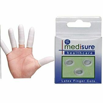 Pack of 12 Latex Finger Cots