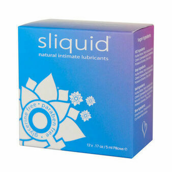 Sliquid Natural Intimate Lubricants (Pack of 12)