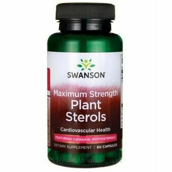 Swanson Ultra Maximum Strength Plant Sterols CardioAid 60 Capsules