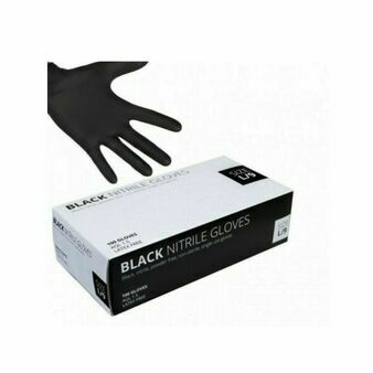 Uniglove UG Black Nitrile Powder Free Gloves