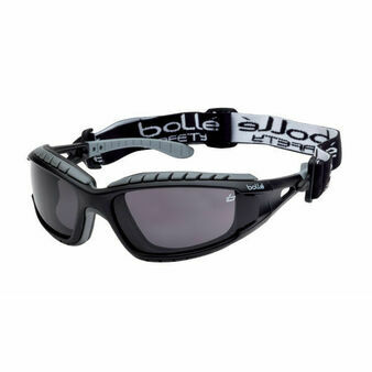 Bolle Tracker Platinum Smoke Safety Glasses