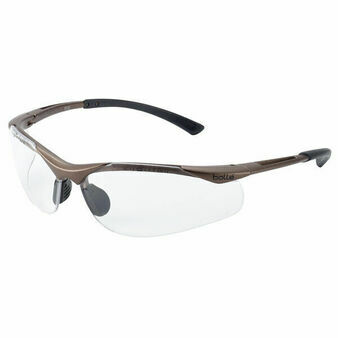 Bolle Contour Platinum Clear Safety Glasses