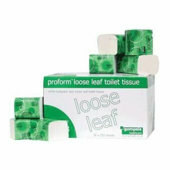 Proform 2 Ply Loose Leaf Toilet Tissue