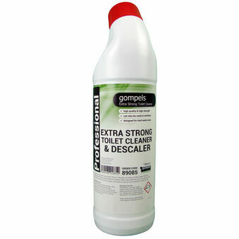 Gompels Extra Strong Toilet Cleaner & Descaler x 6 (1 litre)