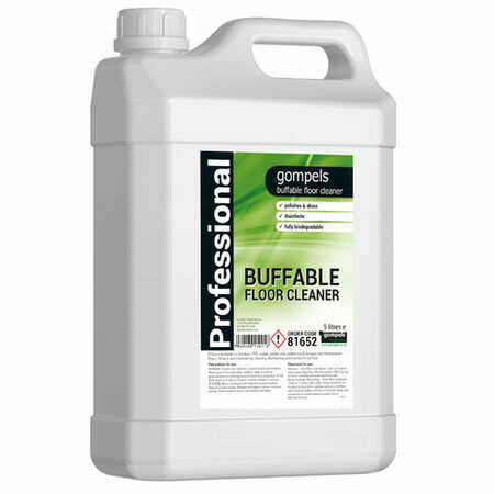 Buffable Floor Cleaner & Polish x 2 (5 litre) only £16.25