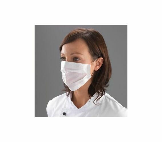 2 Ply Paper Face Dust Masks Protection DIY Building