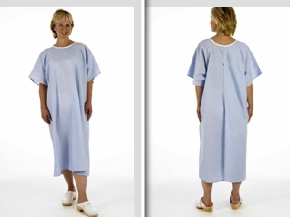 Pullover Blue Examination X-ray Gown only £6.76