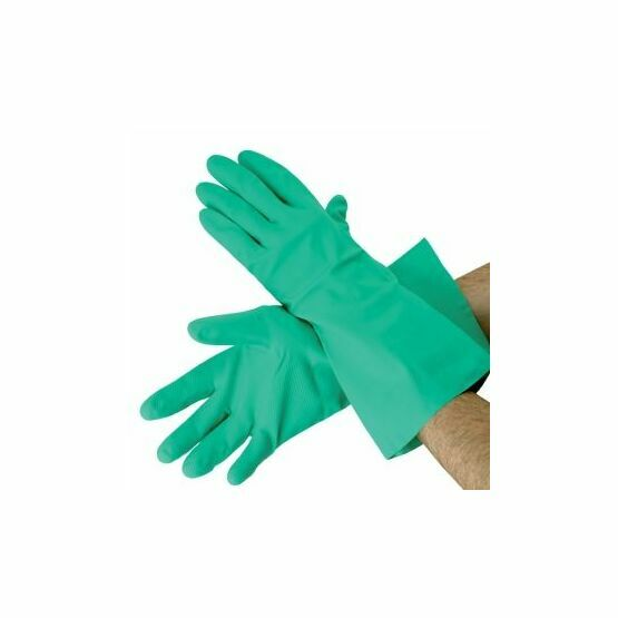 Green Nitrile Synthetic Gloves