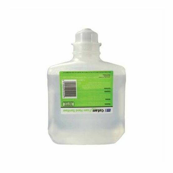 Cutan Foam Hand Sanitiser Cartridge x 6 (1 litre)