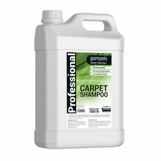 Gompels Water Extraction Carpet Shampoo x 2 (5 litre)