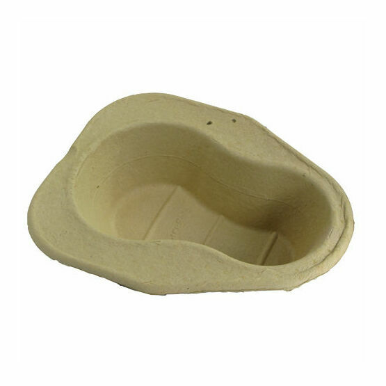 Pulp Disposable Bed Pan Liner x 100 (2 litre)