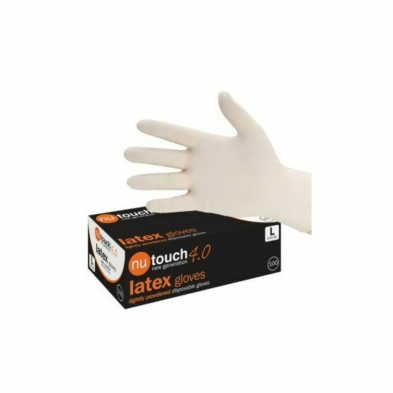Nutouch Latex Lightly Powdered 4.0 Gloves